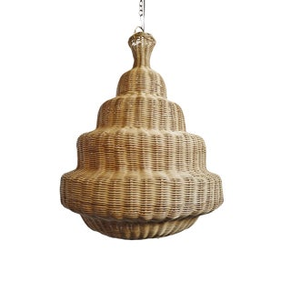 Rattan Madras Lantern Small For Sale