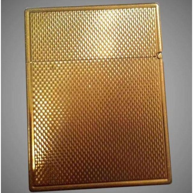 14k Gold Lighter Signed B&A For Sale - Image 10 of 10