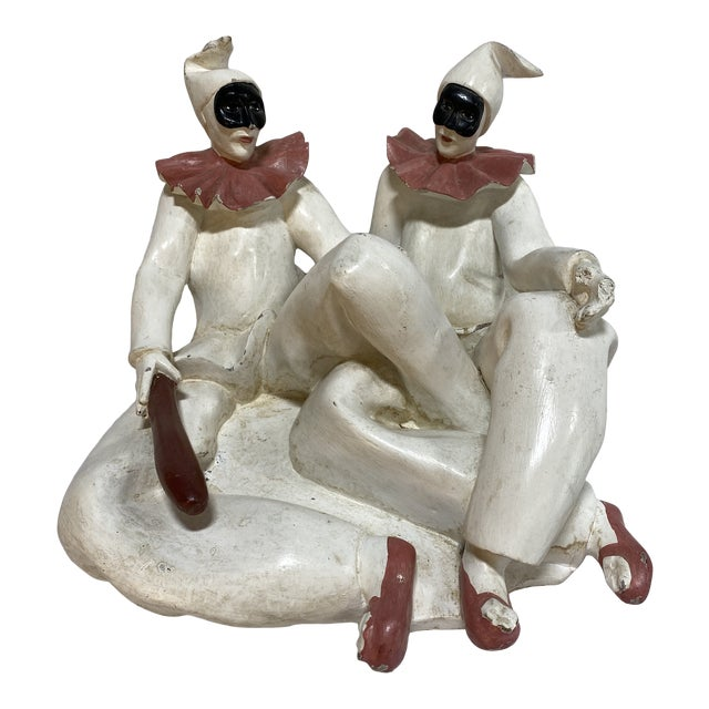 Marbro Style Jester Sculpture For Sale