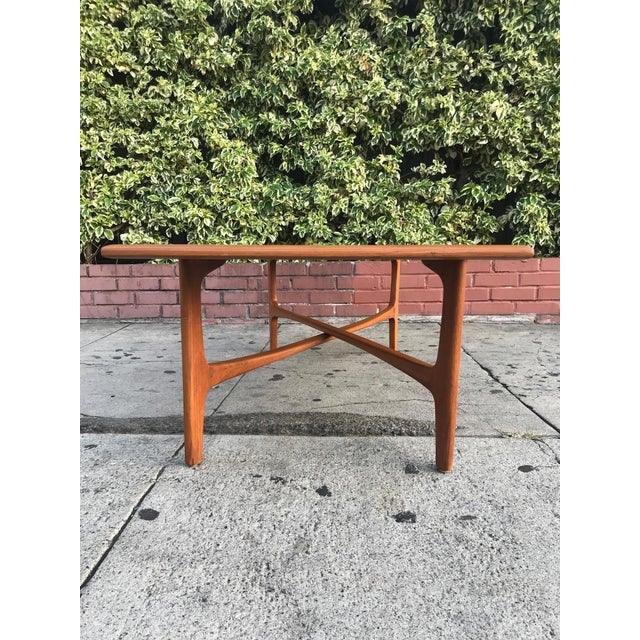 1960s Mid-Century Danish Coffee Table by Dux For Sale - Image 5 of 10