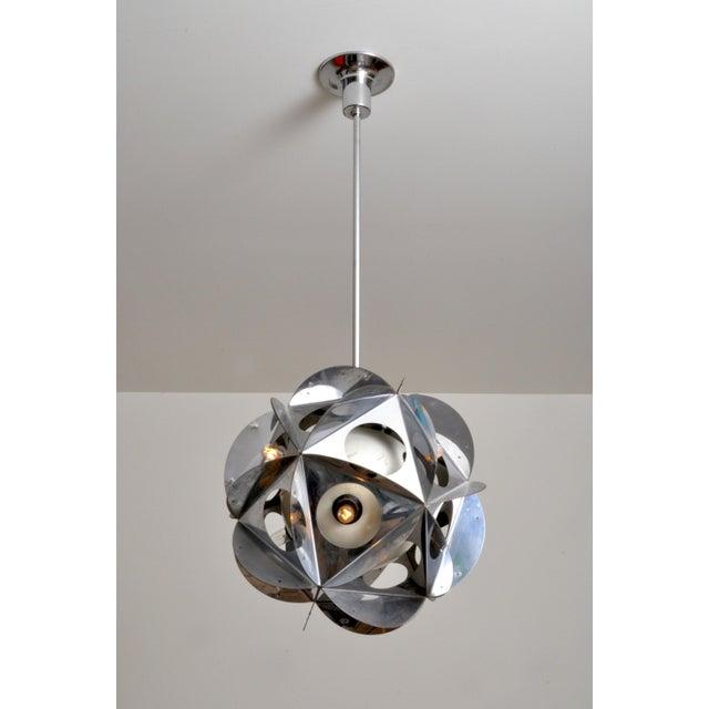 Danese Acona Biconbi Pendant Lamp From Bruno Munari For Sale - Image 4 of 4