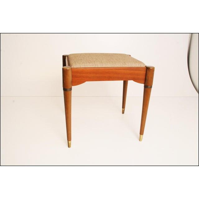 Danish Modern Sewing Storage Stool - Image 11 of 11