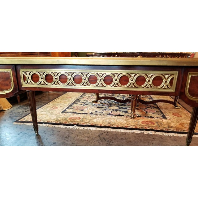 19th Century Louis XVI Style Desk by Paul Sormani For Sale - Image 9 of 13