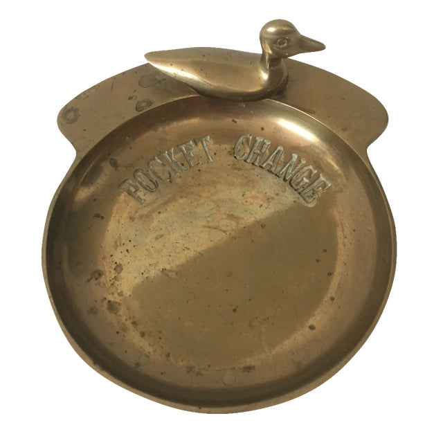 """Brass Duck """"Pocket Change"""" Catchall Bowl - Image 1 of 5"""