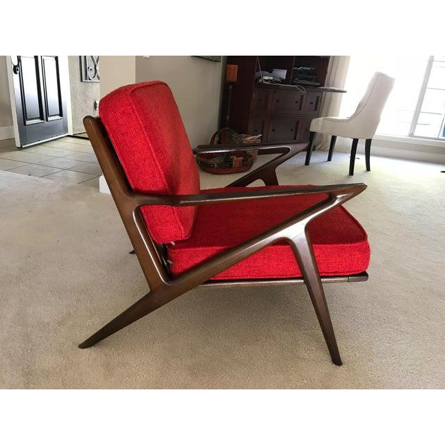 Selig Danish Modern Z Chair - Image 3 of 8