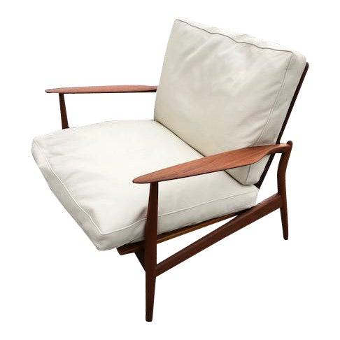 Danish Modern Spear Chair IB Kofod Larsen - Image 1 of 4
