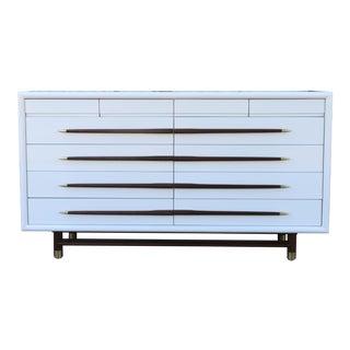 Brown Saltmam Mid Century Dresser