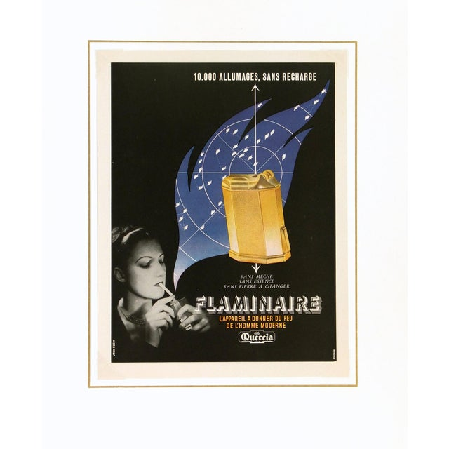 Vintage Poster Art - Flaminaire, C. 1930 - Image 3 of 3
