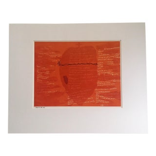 "1960s Abstract Sister Corita Pop Modernist Print: ""Heart of the City"" For Sale"