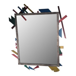 Artist Crafted Pop Art Iron Mirror