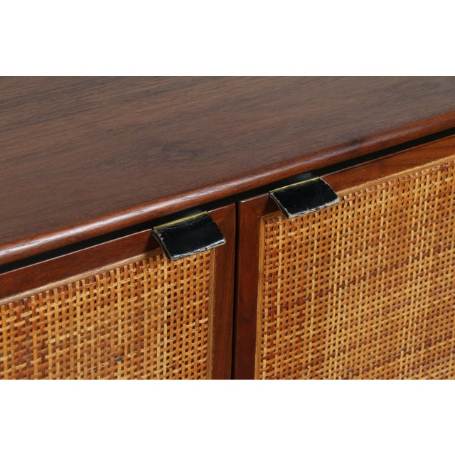 Walnut Cane Credenza by Founders - Image 11 of 11