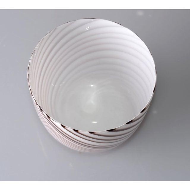 Original Tommaso Barbi Italian Murano Decorative Bowl / Vase For Sale In Miami - Image 6 of 10