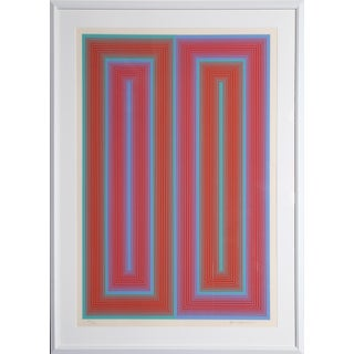 Richard Anuszkiewicz, Untitled From the Peace Portfolio, Serigraph For Sale