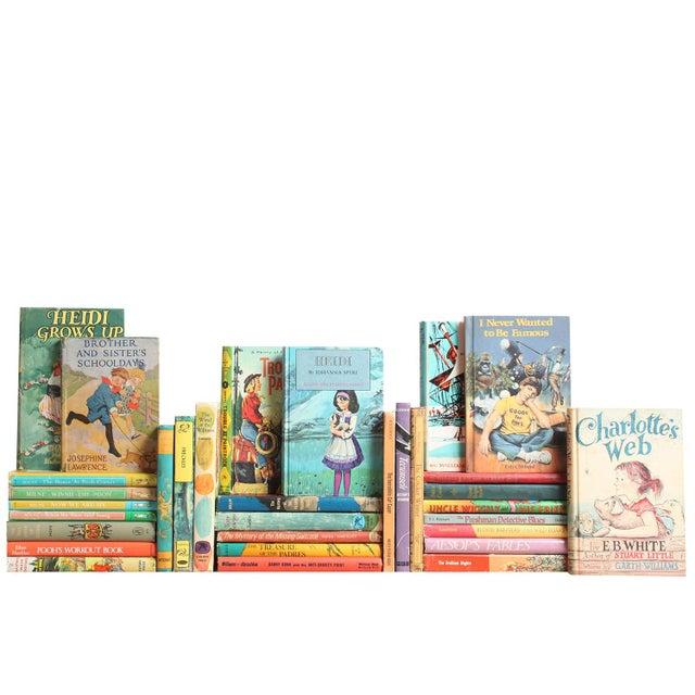 Colorful Vintage Children's Stories - Set of 32 - Image 1 of 2