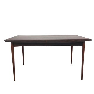 Vintage Danish Rosewood Johannes Andersen Dining Table