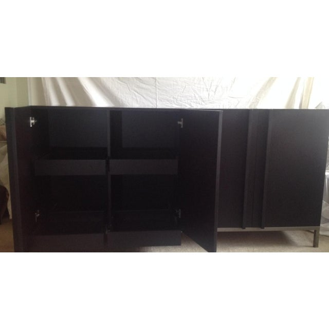 Hand Made Modern Credenza From Shelter LA - Image 4 of 7