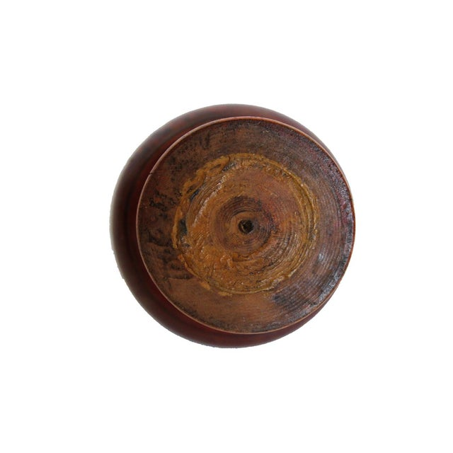Small Round Wood Box For Sale - Image 4 of 4