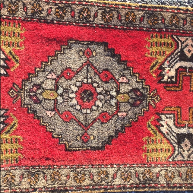Anatolian Persian Rug - 1'6'' x 3'5'' - Image 5 of 9