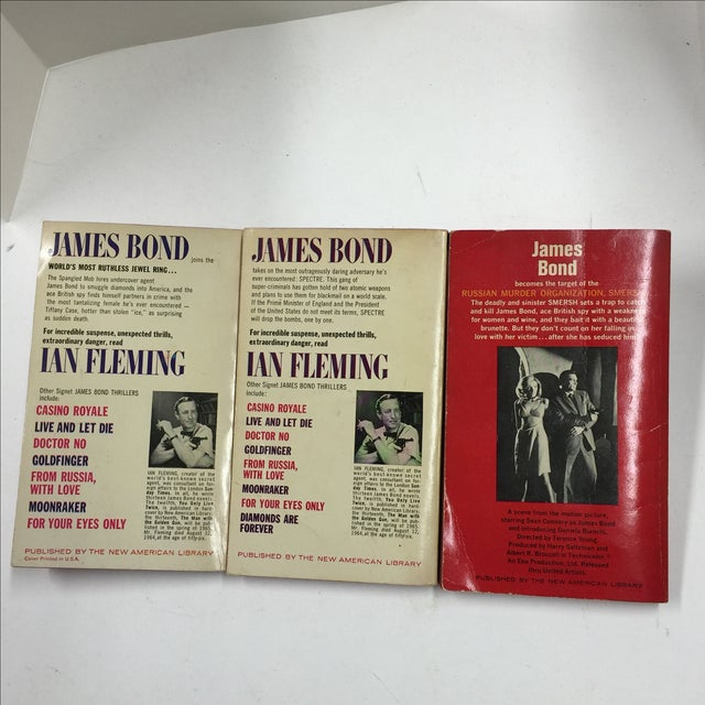 Vintage Ian Fleming Soft Covers Books - Set of 3 - Image 3 of 3