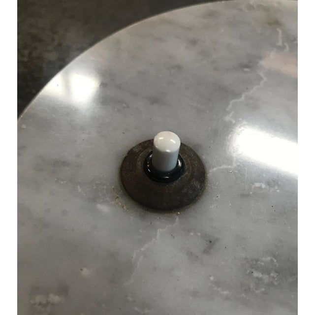 Italian Desk Light Stilux in Marble and Brass, 1950s For Sale - Image 10 of 12