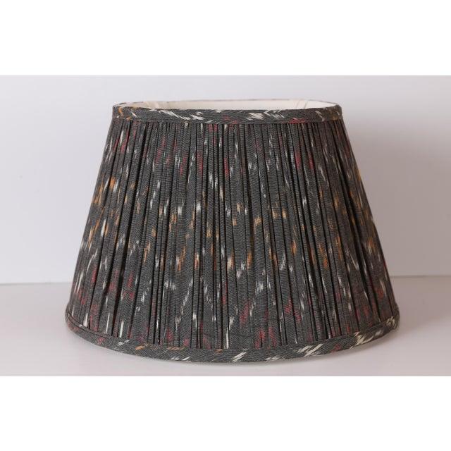 Custom Maison Maison Gathered Lampshade For Sale In Houston - Image 6 of 6