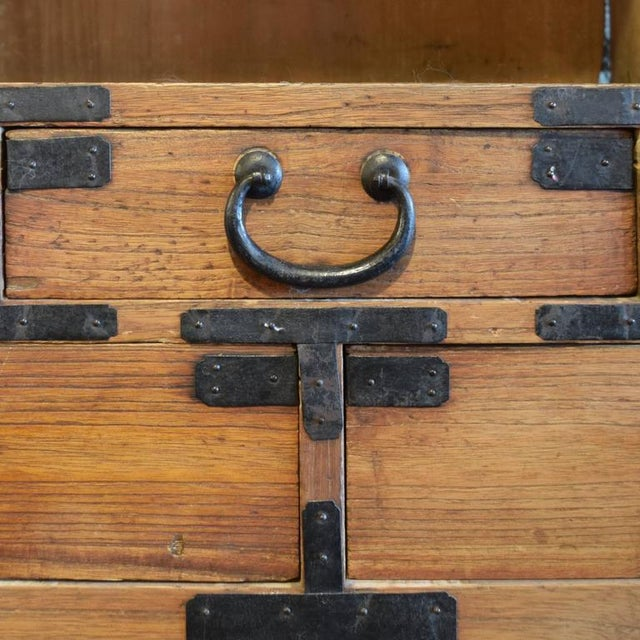 Japanese Tansu Chest - Image 5 of 6