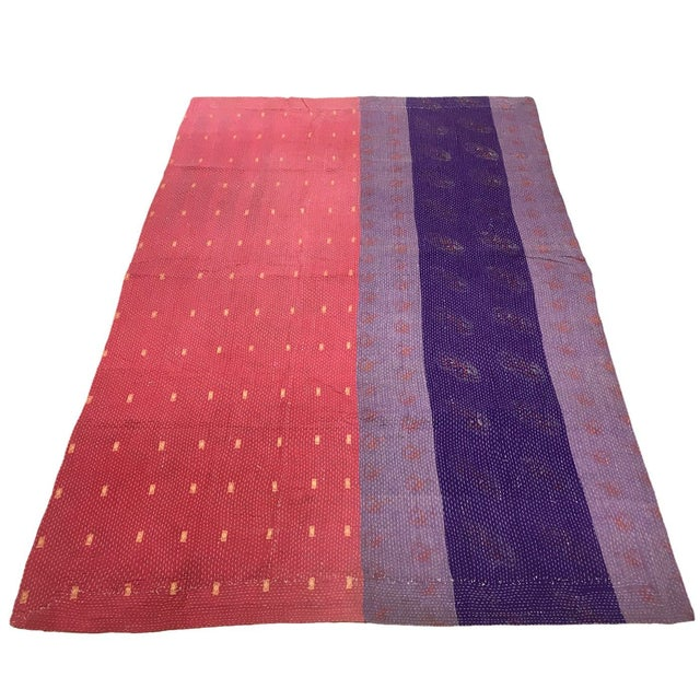 Vintage Kantha Quilt   Sari Throw We're known for all things Turkish, but when we saw these vintage Kantha Quilts from...