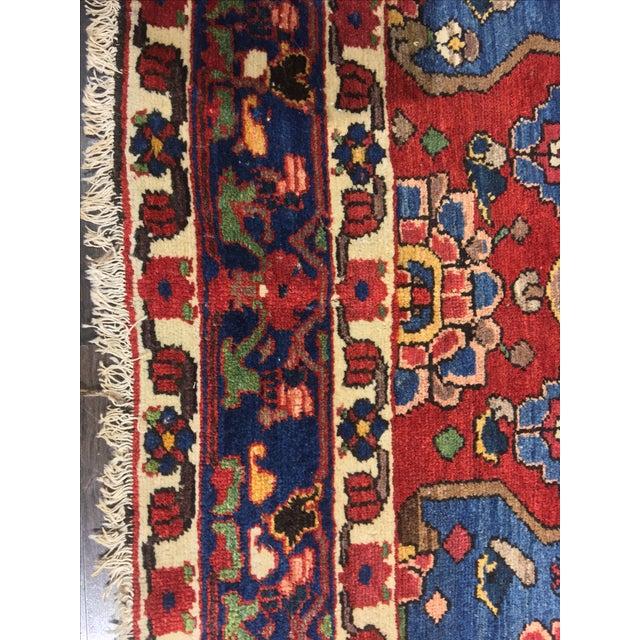 Vintage Persian Bactiari Rug - 6′9″ × 10′2″ - Image 6 of 11