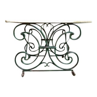 19th Century French Pastry Baker's Table For Sale