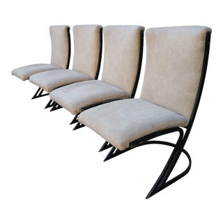 Vintage Piere Cardin Style Chairs- Set of 4 For Sale