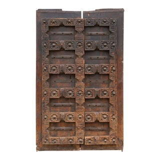 Early 1800's Robust Kerala Doors For Sale