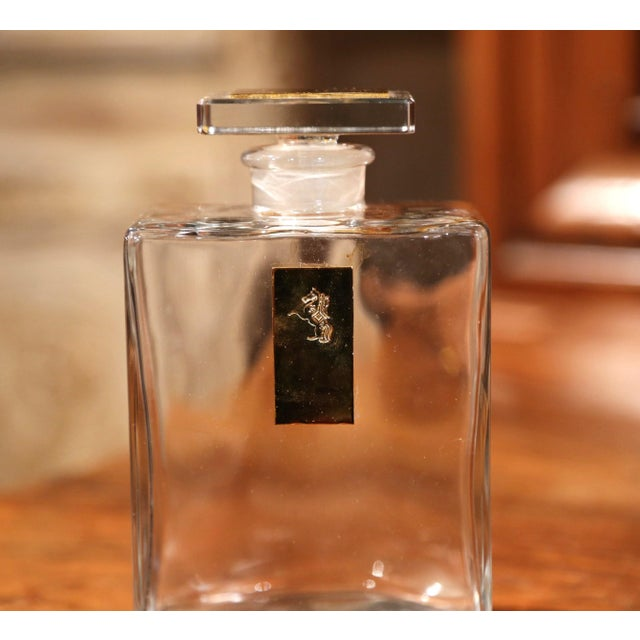 Mid-20th Century French Cave À Liqueur Leather Book with Shot Glasses and Carafe For Sale - Image 10 of 11