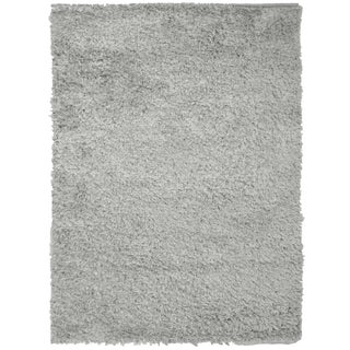 Grey Shag Rug - 9′ × 12′ For Sale