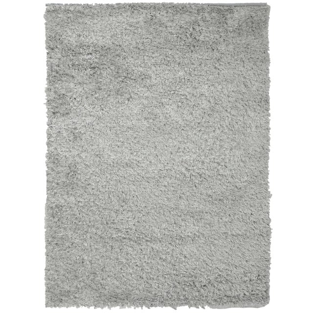 Grey Shag Rug - 9′ × 12′ - Image 1 of 7