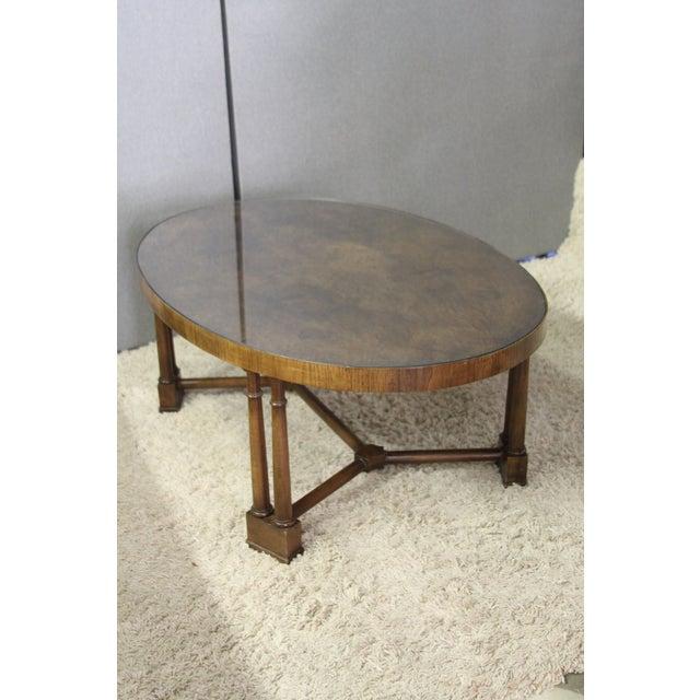 Vintage Wood Coffee Table - Image 5 of 5