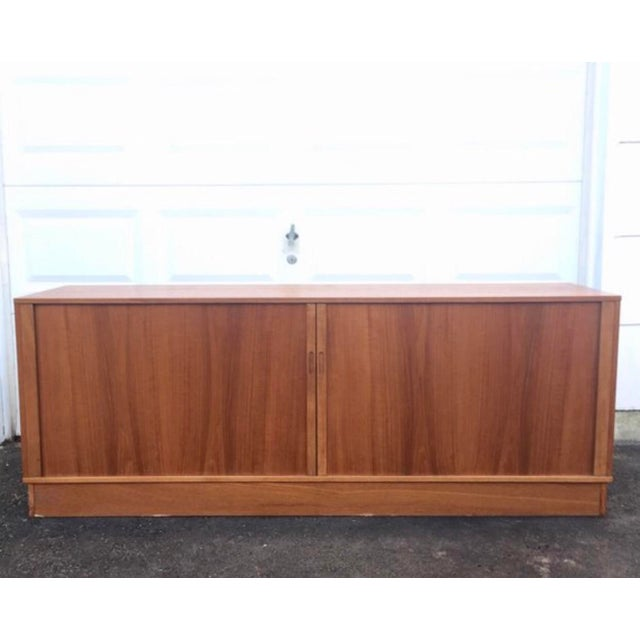 Mid-Century Modern Teak Credenza or Tv Console For Sale - Image 11 of 11