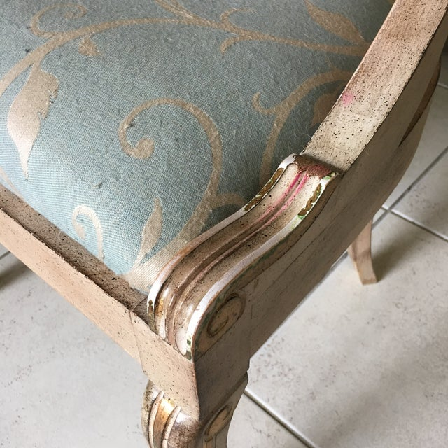 Roman Style Library Chairs - A Pair For Sale - Image 10 of 11