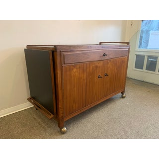 1960s Vintage Mid-Century Walnut Bar Cabinet Preview