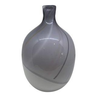 Kosta Boda Bengt Edenfalk Art Glass Vase For Sale