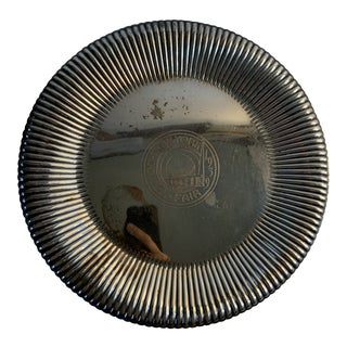 1939 New York World's Fair Rogers Silver Plate Platter For Sale