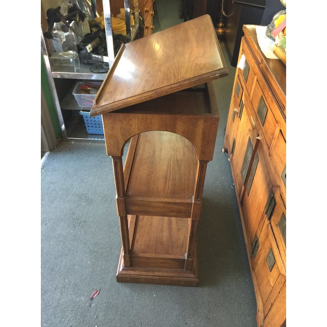 Traditional Dalton Coles Lectern Podium Lift Top Book Stand For Sale - Image 3 of 7