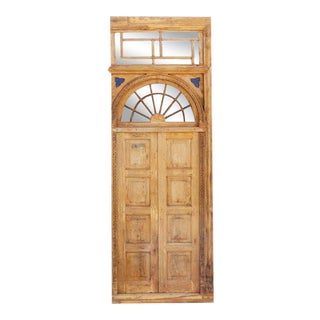 1800s Indo Portuguese Door For Sale