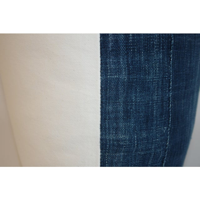 Vintage African Indigo Textile Pillow - Image 5 of 6