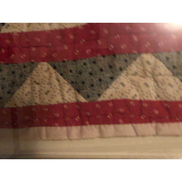 Early 20th Century Framed Doll Quilt For Sale - Image 10 of 13