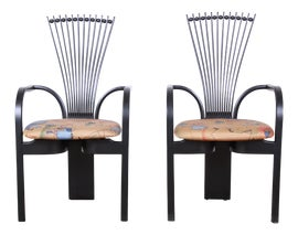 Image of Lacquer Side Chairs