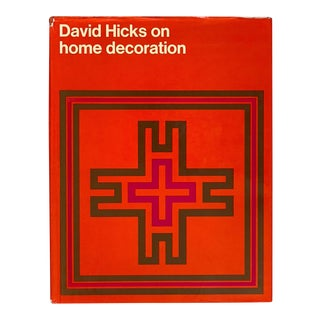 """David Hicks on Home Decoration"" 1st Edition David Hicks Book 1972 For Sale"