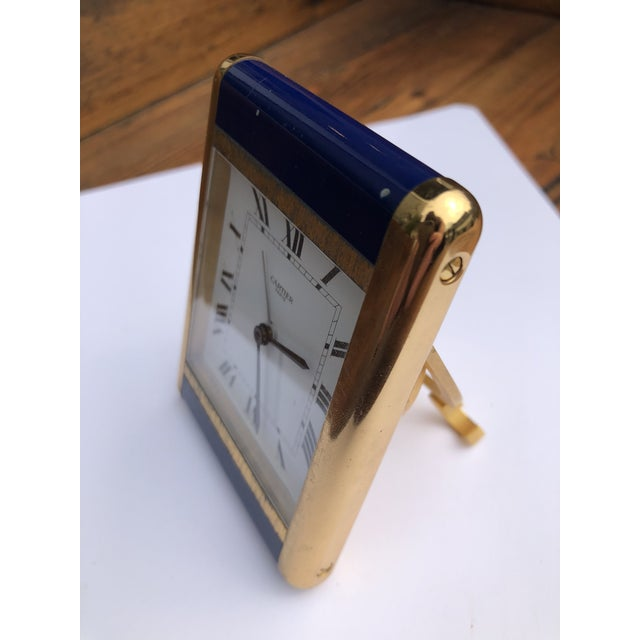 Cartier Paris Travel Clock For Sale - Image 9 of 13