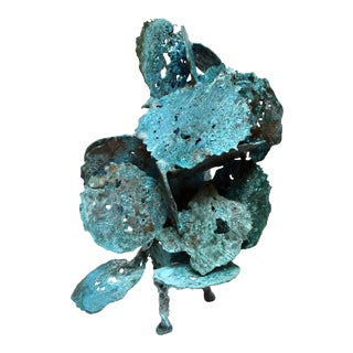 Harry Bertoia Welded Bronze Spill Cast Sculpture