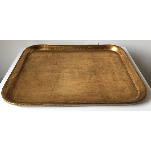 Italian Gilt Wood Serving Tray - Image 4 of 5