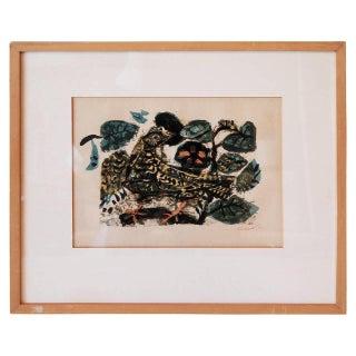 """Antoni Clavé """"Bird"""" Lithograph For Sale"""